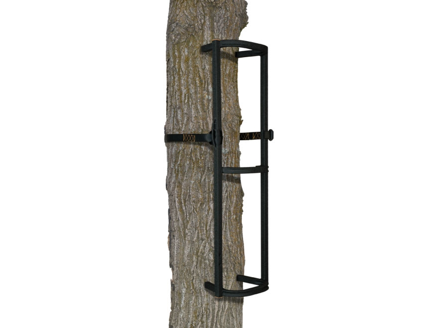 Muddy The Stagger-Steps Treestand Climbing Stick Steel Black