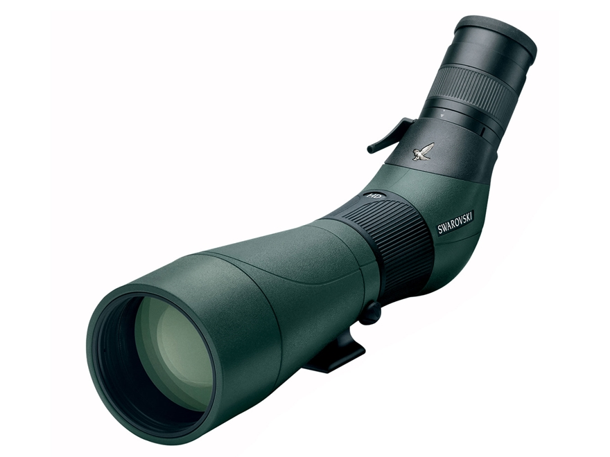 Swarovski ATS 80 HD Spotting Scope 25-50x 80mm Angled Body Green