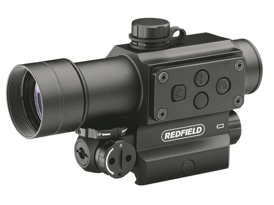Redfield Counterstrike Tactical Red Dot Sight 30mm Tube 4 MOA Red and Green Dot with In...