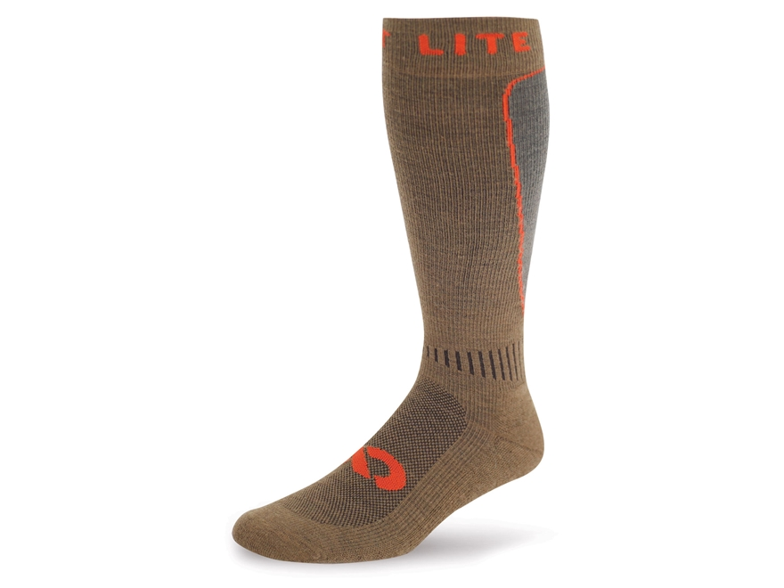 First Lite Mountain Athlete Compression Socks Merino Wool Blend