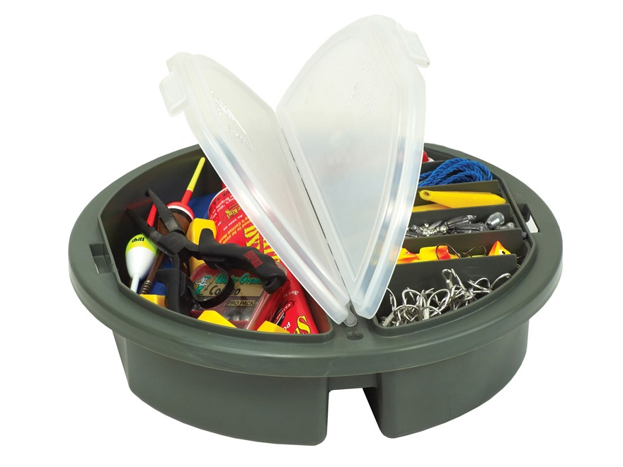 Plano Bucket Top StowAway Topper/ Organizer Polymer O.D. Green/ Clear