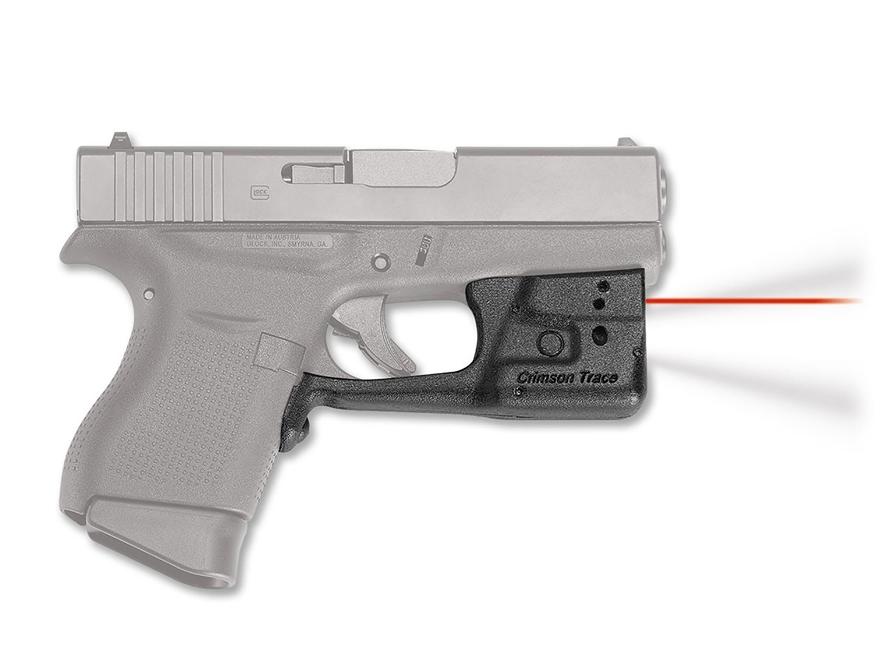 Crimson Trace Laserguard Pro Laser Sight Glock 42, 43 Polymer Black