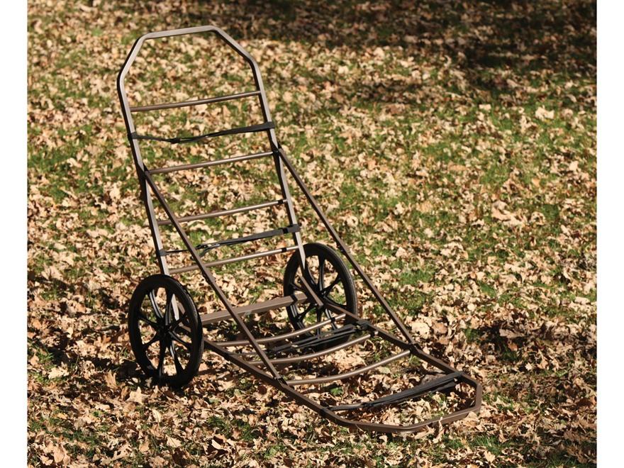 API Outdoors Magnum Game Cart Steel Olive Green