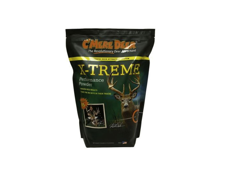 C'Mere Deer XTREME Deer Attractant Powder 5 LB Bag