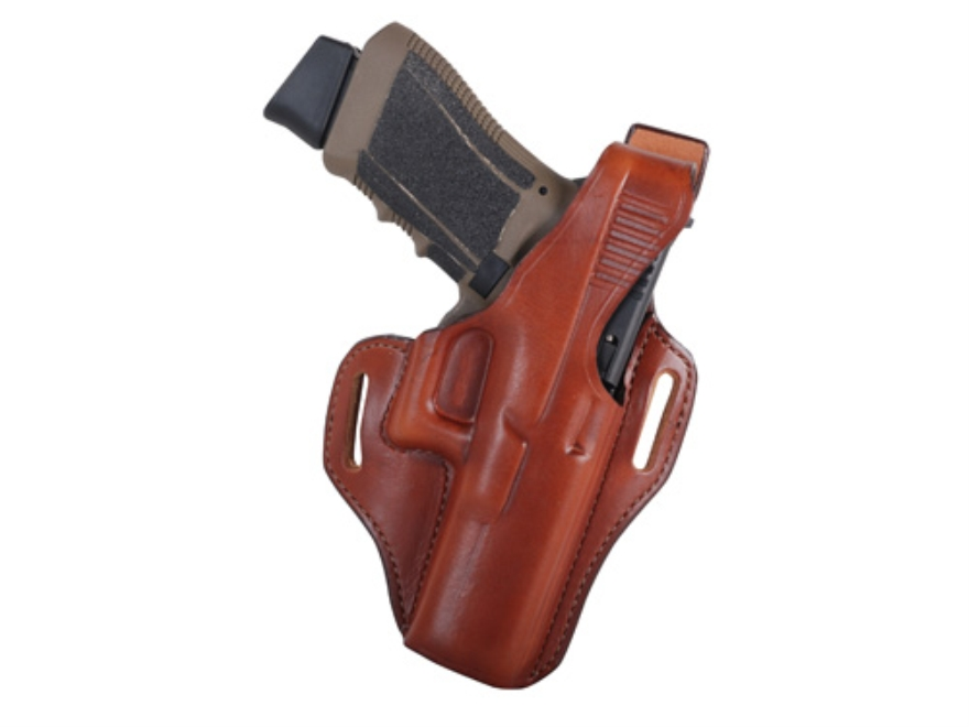 Bianchi 56 Serpent Outside the Waistband Holster Right Hand Glock 17, 22, 31 Leather