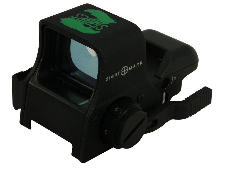 Sightmark Ultra Shot Z Series Reflex Red Dot Sight 30mm Tube 1x 4 Pattern (Dot, Cross, ...