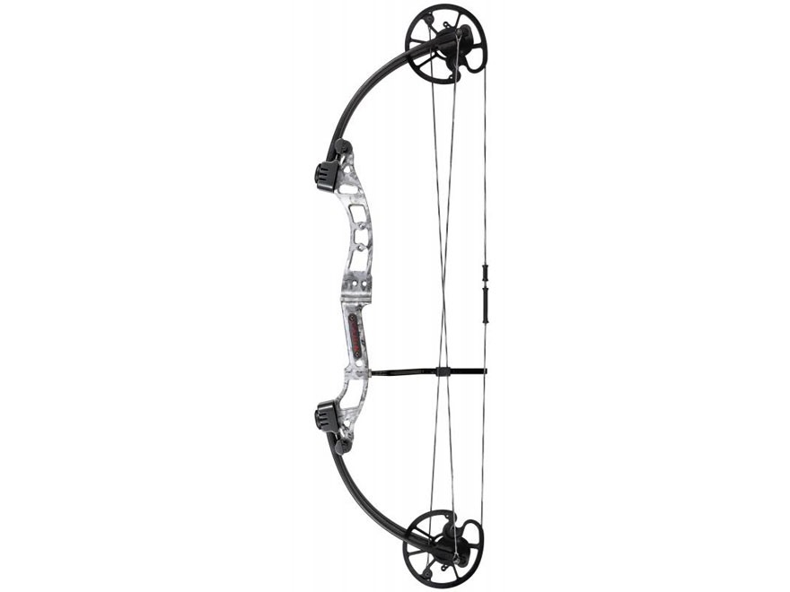 Cajun Archery Sucker Punch Bowfishing Compound Bow 50 lb Right Hand Gray