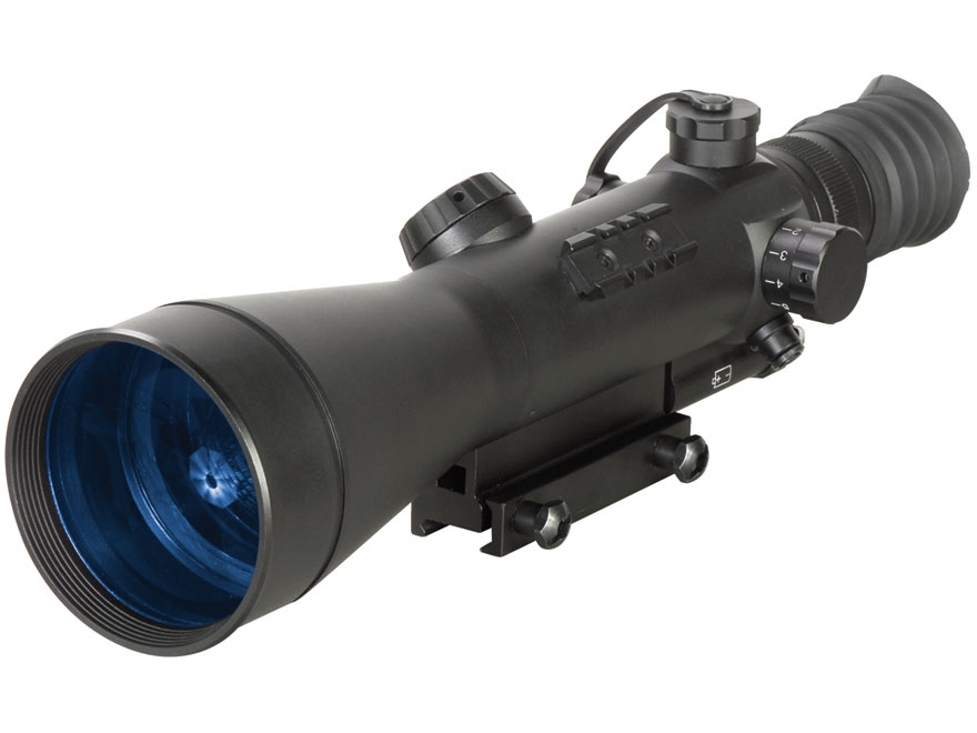 ATN Night Arrow 6-WPT Generation Night Vision Rifle Scope 6x Illuminated Red Duplex Ret...