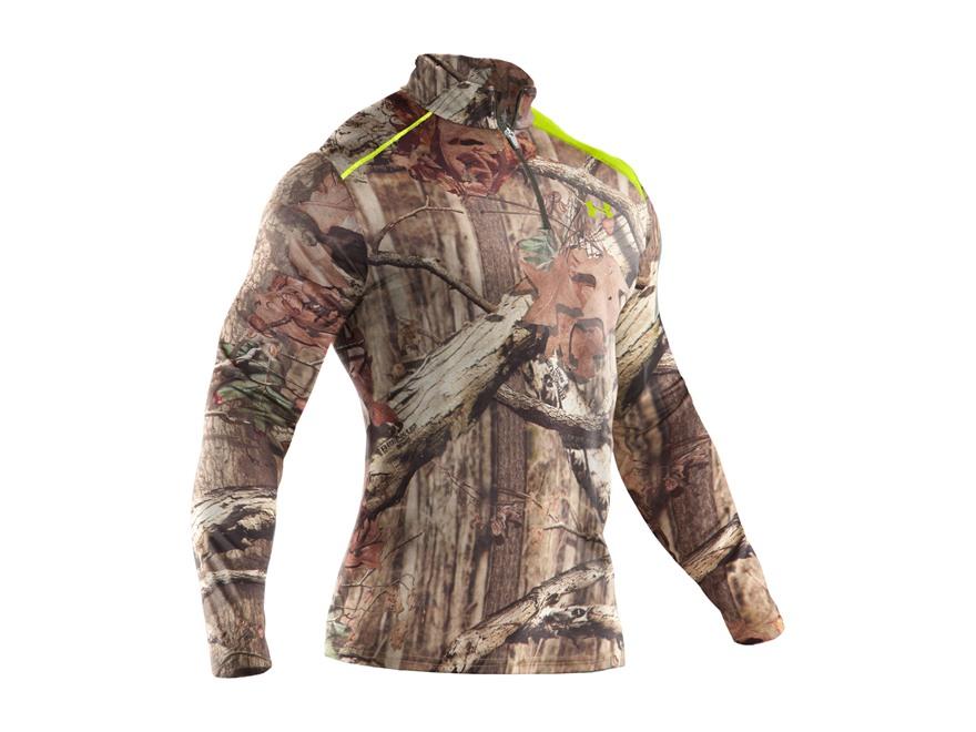 Under Armour Men's EVO Scent Control 1/4 Zip Base Layer Shirt