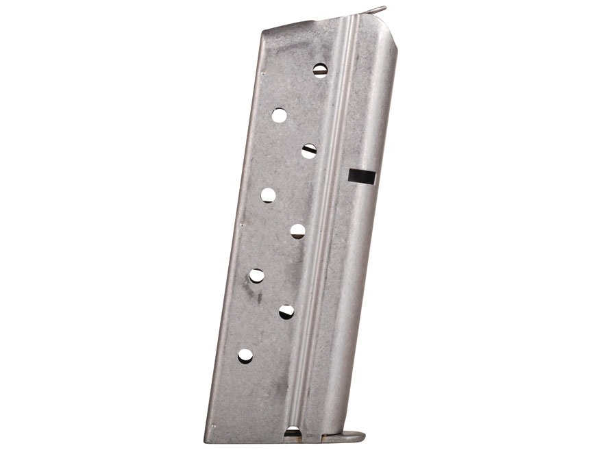 Colt Magazine 1911 Officer, Colt Defender, New Agent 9mm Luger 8-Round Stainless Steel