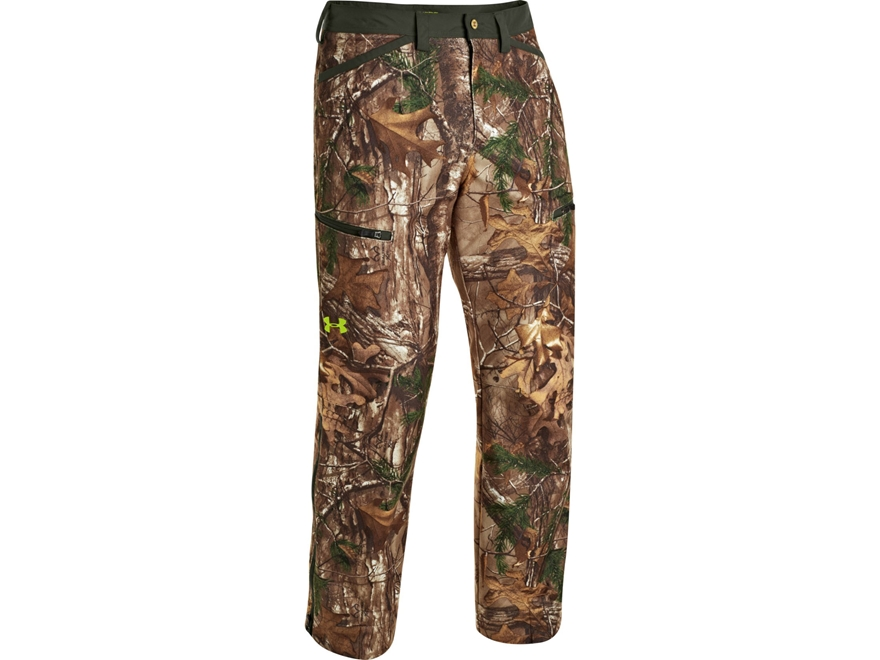 Under Armour Men's UA ColdGear Infrared Scent Control Rut Pants Polyester Realtree Xtra...