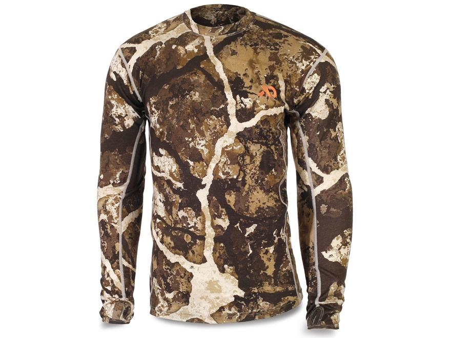 First Lite Men's Llano Crew Shirt Long Sleeve Merino Wool