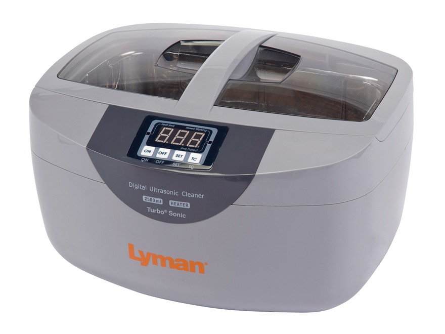Lyman Turbo Sonic 2500 Ultrasonic Case Cleaner 110 Volt