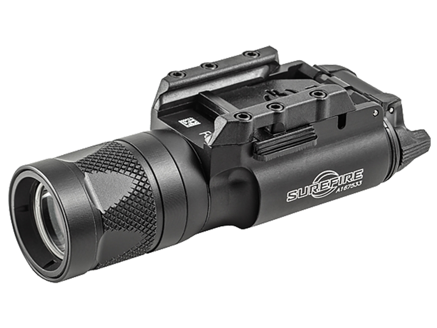 Surefire X300V Weapon Light White and IR LED with 2 CR123A Batteries Aluminum Black