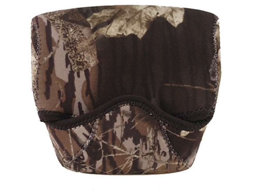 CrossTac Binocular Cover Small Porro Prism Neoprene Reversible Black, Mossy Oak Break-U...