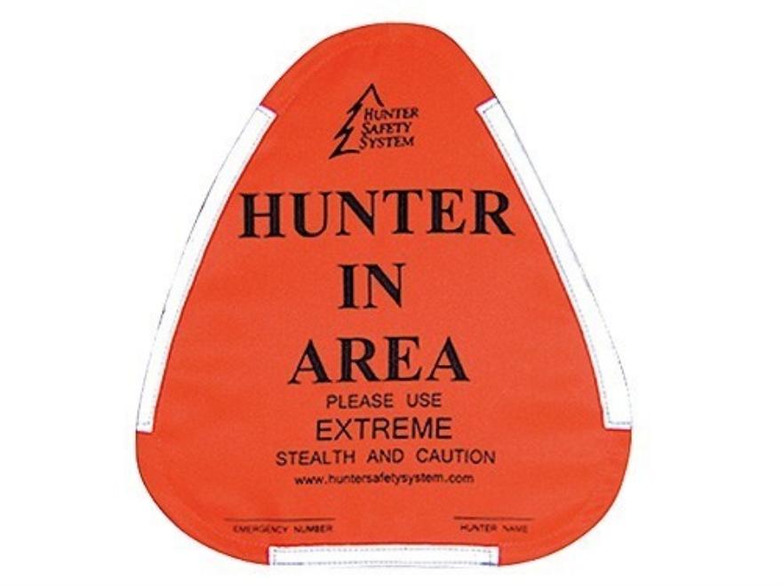 Hunter Safety System Hunter Warning Sign Blaze Orange