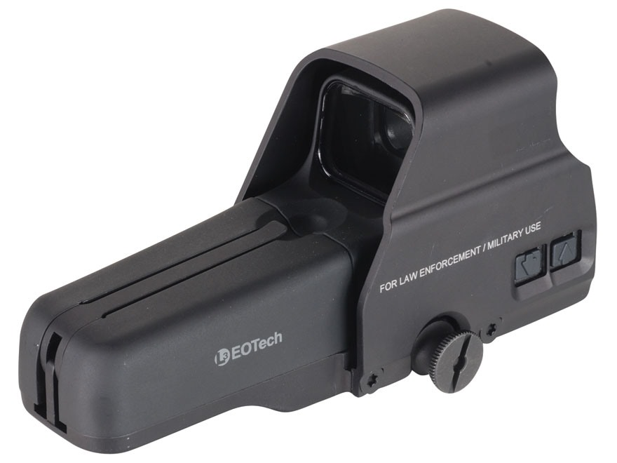 EOTech 517 Holographic Weapon Sight 65 MOA Circle with 1 MOA Dot Reticle Matte AA Batte...