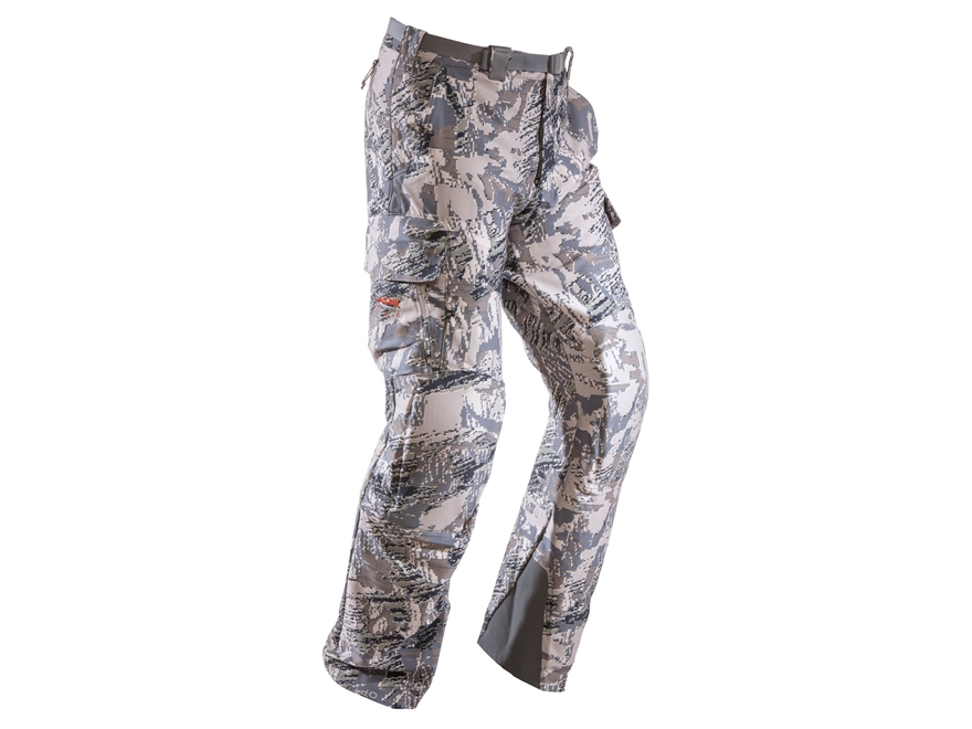 Sitka Gear Men's Mountain Pants Polyester Gore Optifade Open Country Camo 34 Waist