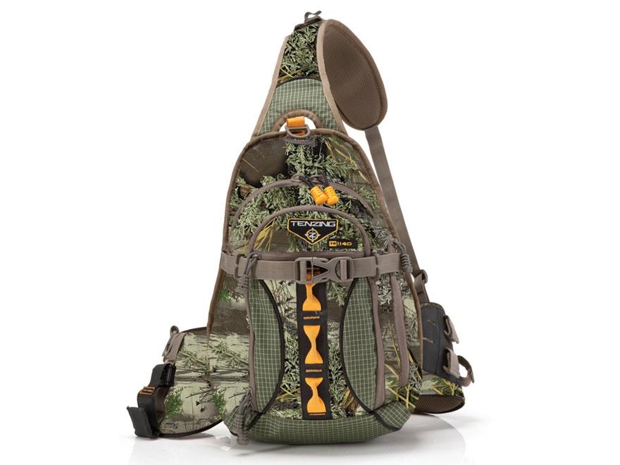 Tenzing TZ 1140 Single Sling Archery Backpack Nylon Ripstop Realtree Max-1 Camo