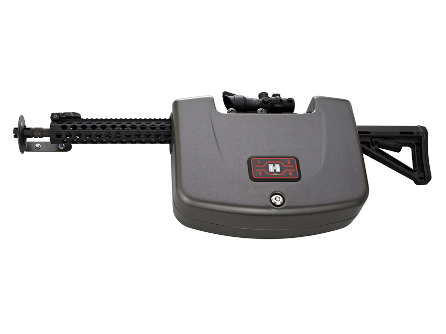 Hornady RAPiD Safe AR Wall Lock RFID Safe Steel Black