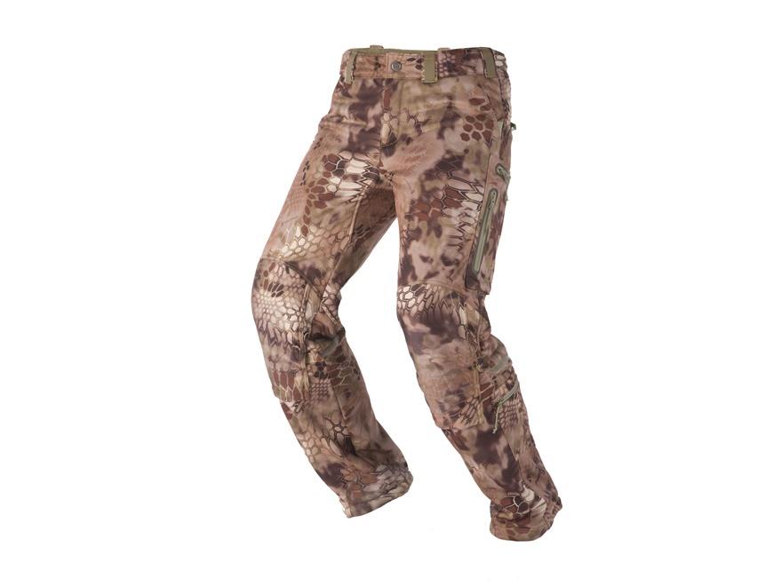 Kryptek Men's Cadog Softshell Pants Polyester Highlander Camo