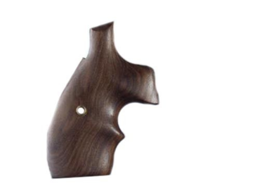 Hogue Bantam Grips with Top Finger Groove S&W N-Frame Round Butt