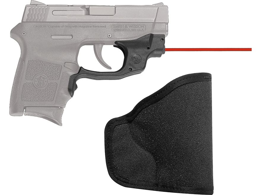 Crimson Trace Laserguard Smith & Wesson M&P Bodyguard 380 Polymer Black