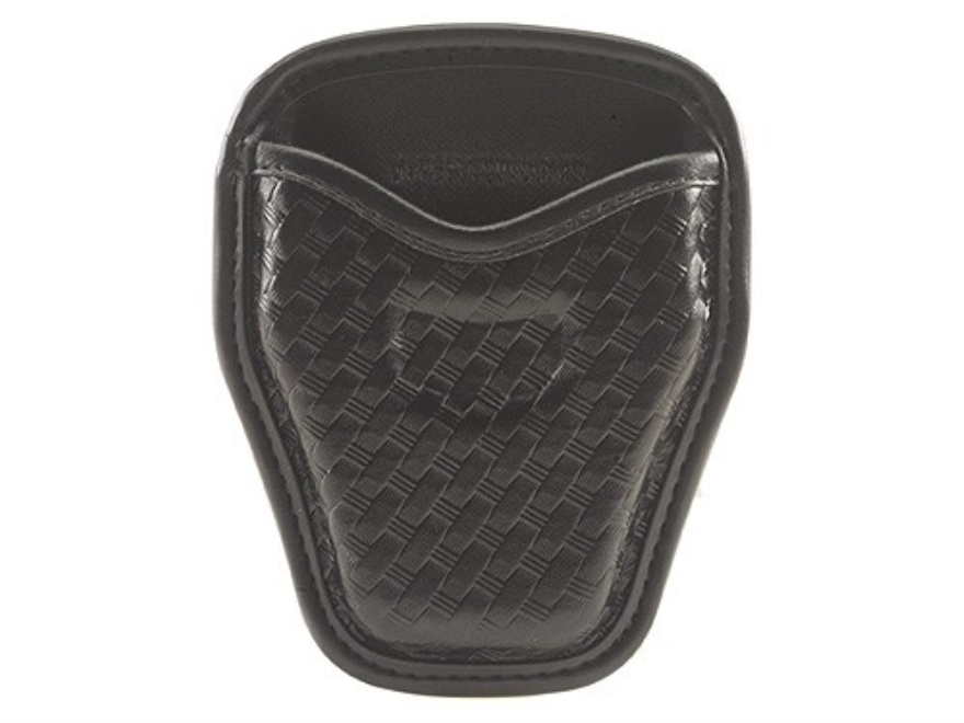 Bianchi 7934 AccuMold Elite Open Handcuff Case Nylon Basketweave Black