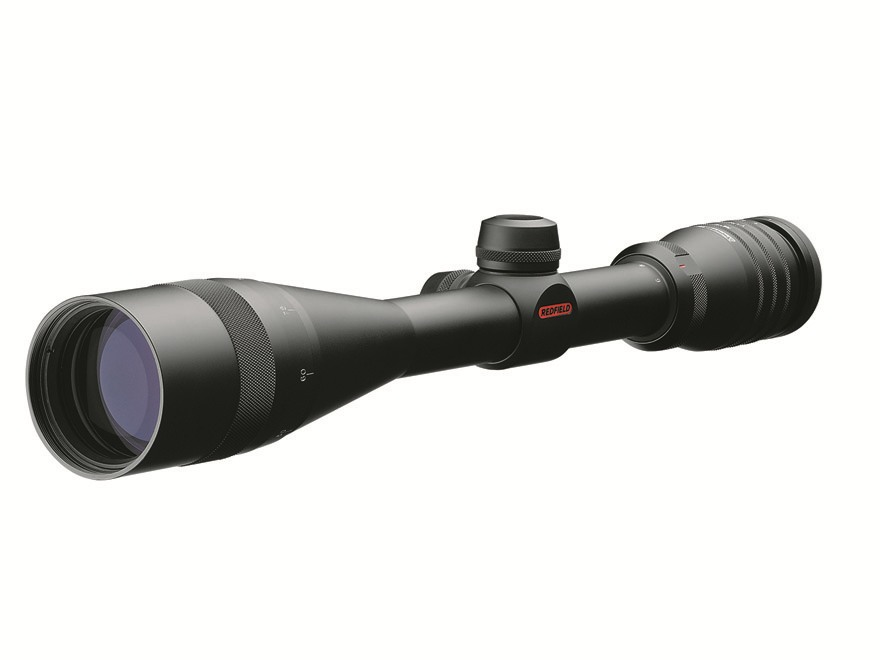Redfield Revenge Rifle Scope 6-18x 44mm Adjustable Objective Fine Plex Reticle Matte