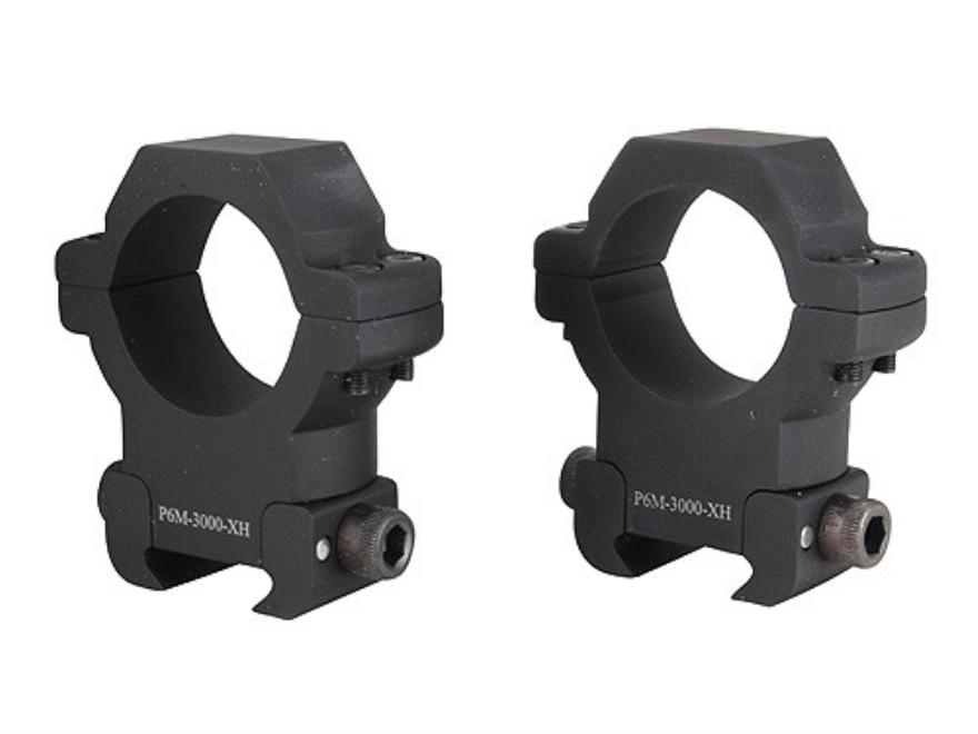 U.S. Optics 30mm Picatinny-Style Rings Matte Extra-High