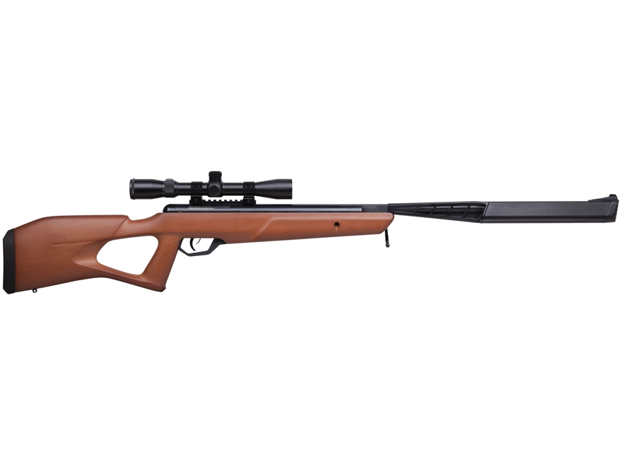 Benjamin Trail SBD Nitro Piston 2 Break Barrel Air Rifle Pellet Hardwood Stock Matte Ba...
