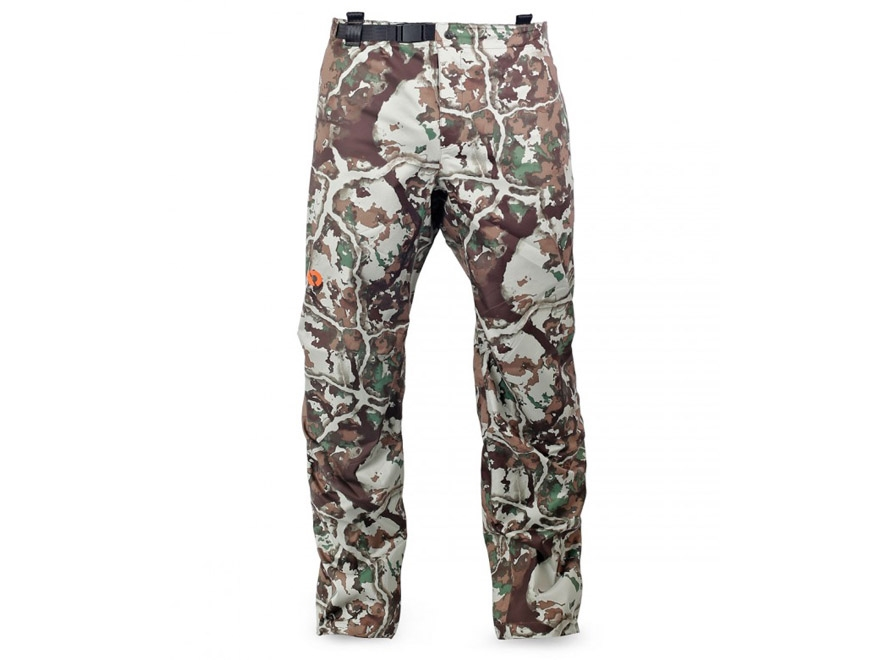 First Lite Men's Boundry Stormtight Waterproof Rain Pants Synthetic Blend