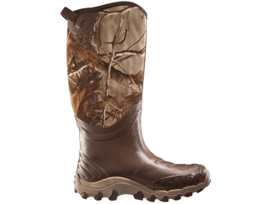 "Under Armour H.A.W. 18"" Waterproof Uninsulated Boots Rubber Clad Neoprene Realtree AP C..."