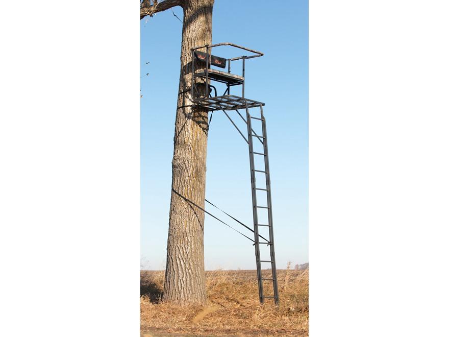 Big Game Partner Plus Select Double Ladder Treestand Steel Black