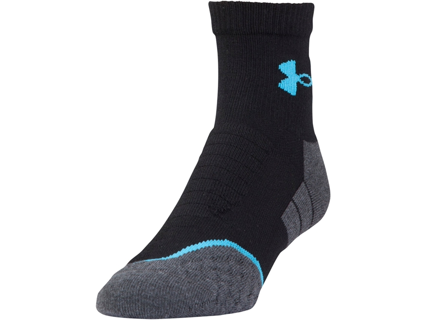 Under Armour Men's UA All Season Cool Mid Crew Socks Synthetic Blend 1 Pair