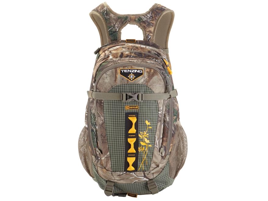Tenzing TZ 1215W Women's Backpack Polyester and Nylon Ripstop Realtree Xtra Camo