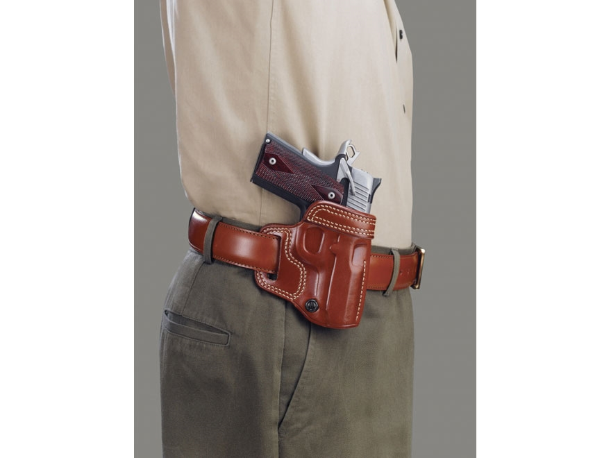 Galco Avenger Belt Holster Right Hand Glock 17, 22, 31 Leather