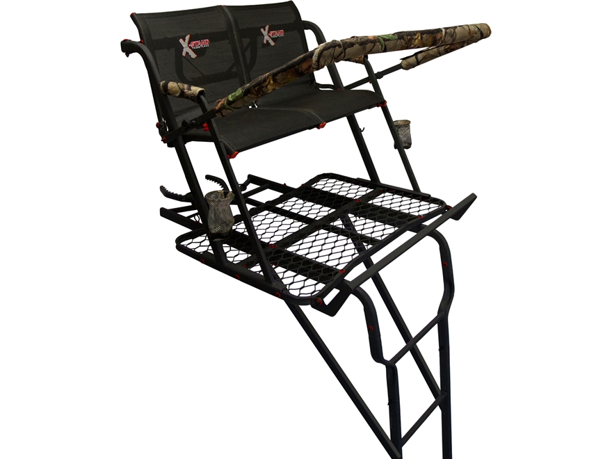 X-Stands The Talon 22' Double Ladder Treestand Steel
