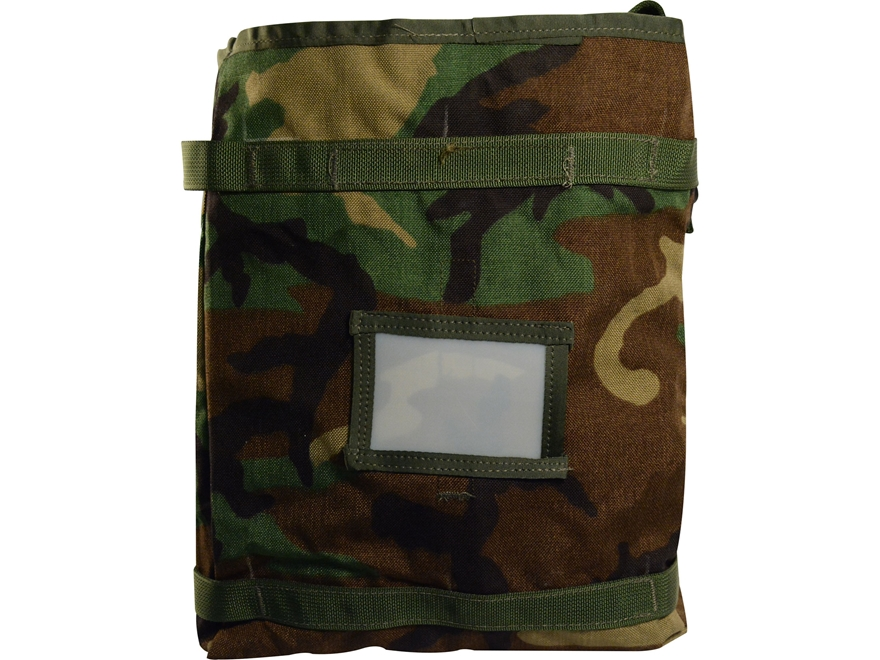 Military Surplus MOLLE II Radio Pouch Grade 1 Woodland Camo