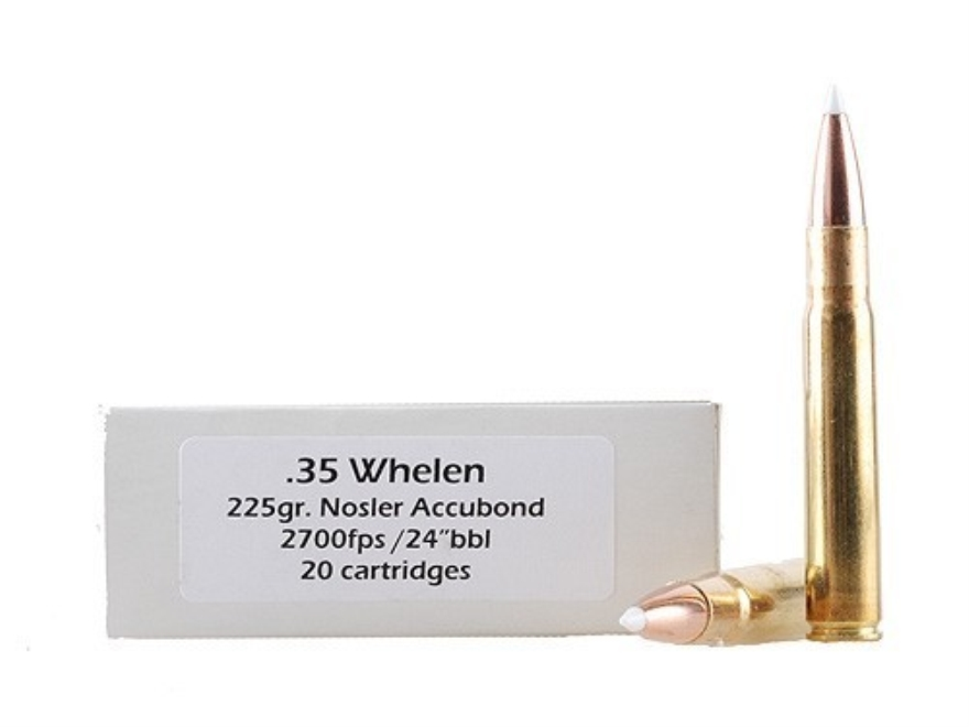Doubletap Ammunition 35 Whelen 225 Grain Swift A-Frame Box of 20