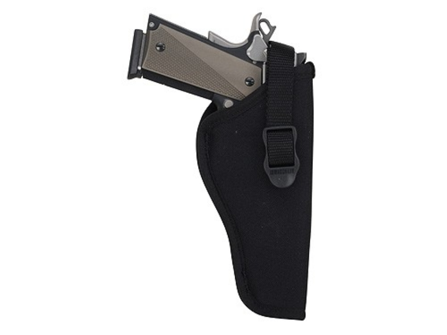 "BLACKHAWK! Hip Holster Medium, Large Double Action Revolver 7"" to 8.5"" Barrel Nylon Black"
