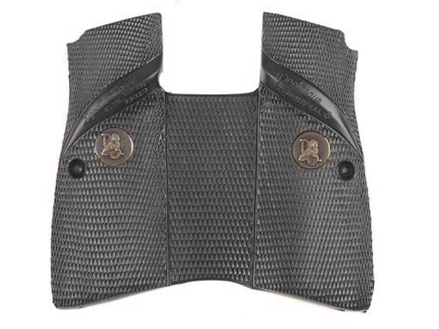 Pachmayr Signature Grips with Backstrap Browning Hi-Power Match-Style Rubber Black