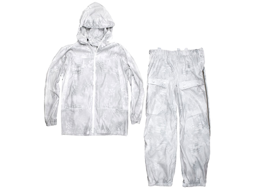 Kryptek Men's Overwhites Set Jacket, Pants and Gaiter Polyester