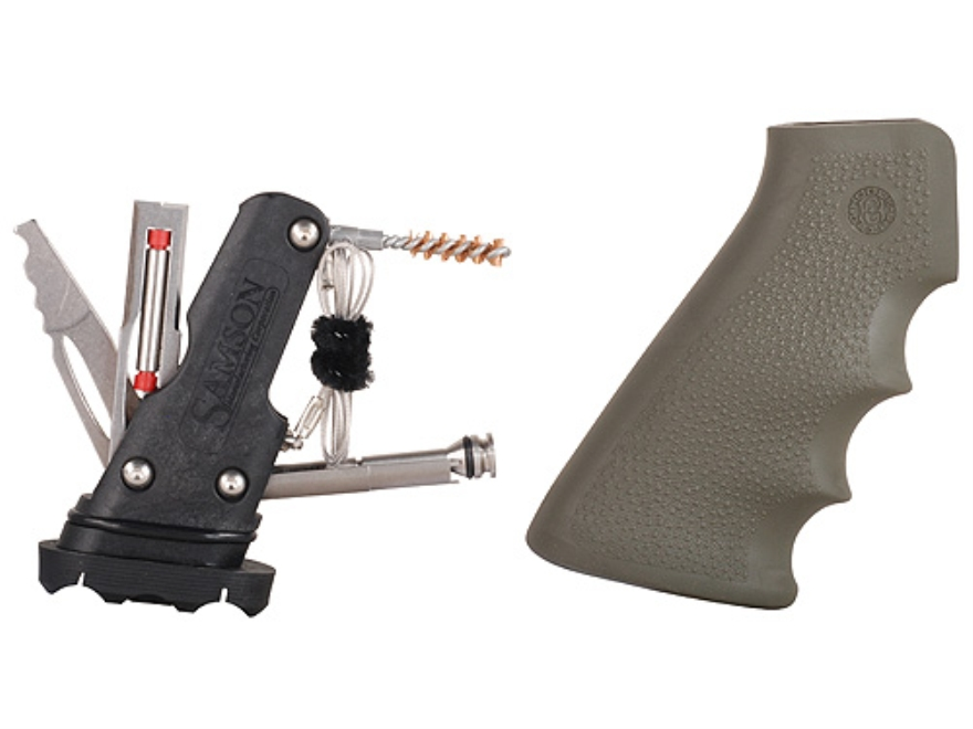 Hogue OverMolded Pistol Grip AR-15 with Samson Field Survivor Kit