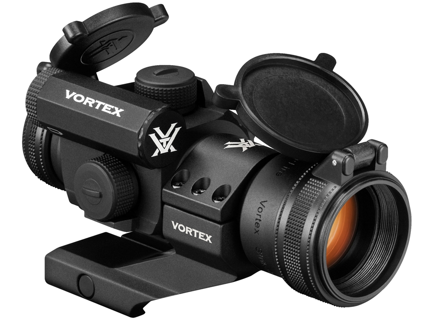 Vortex Optics StrikeFire II Red Dot Sight 30mm Tube 1x 4 MOA Dot with Cantilever Mount ...