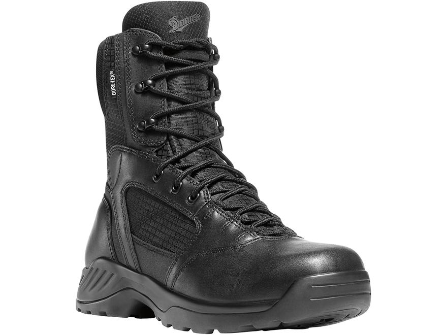 "Danner Kinetic 8"" GTX Side-Zip Waterproof Tactical Boots Leather"