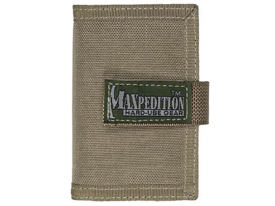 Maxpedition Urban Wallet Nylon Khaki