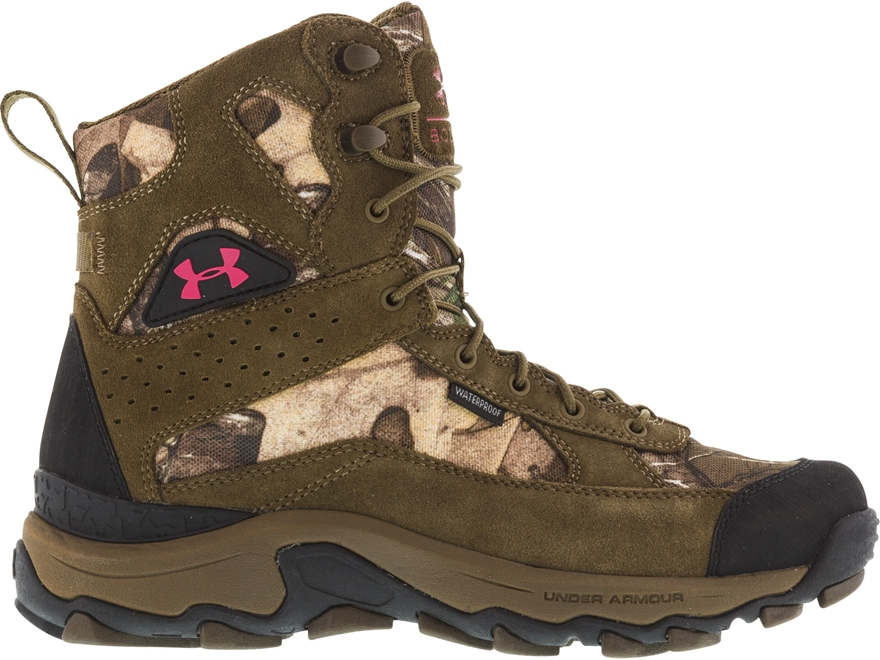 "Under Armour UA Speed Freek Bozeman 8"" Uninsulated Waterproof Hunting Boots Realtree Xt..."