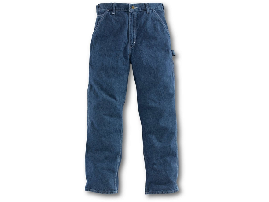 Carhartt Men's Loose Original Fit Work Dungaree Pants Cotton