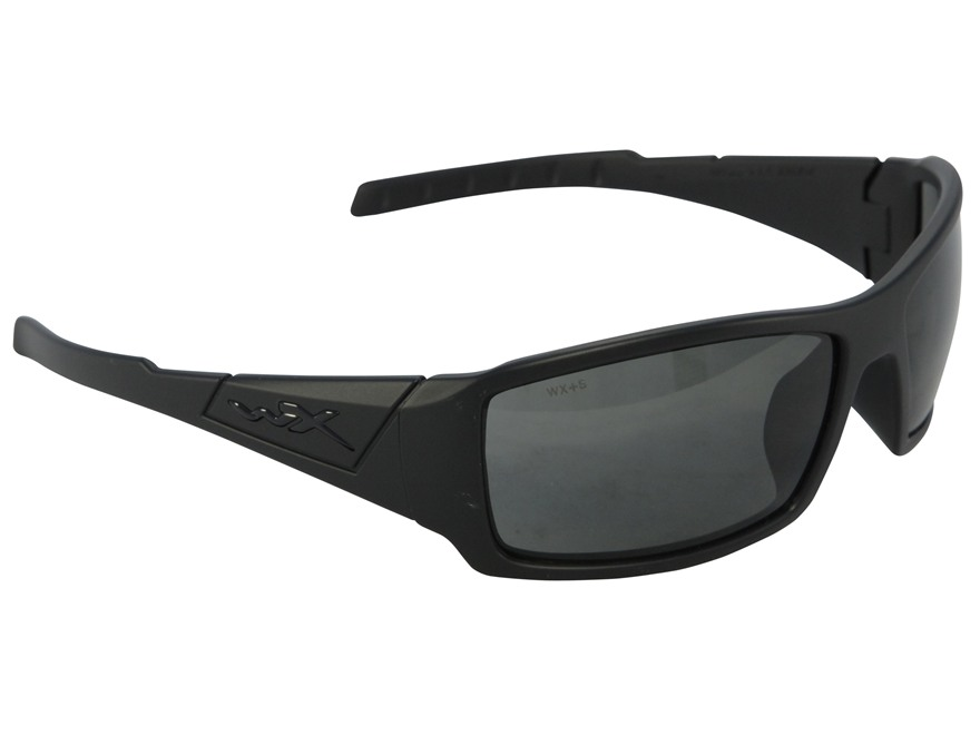 Wiley X Black Ops WX Twisted Sunglasses Smoke Gray Lens